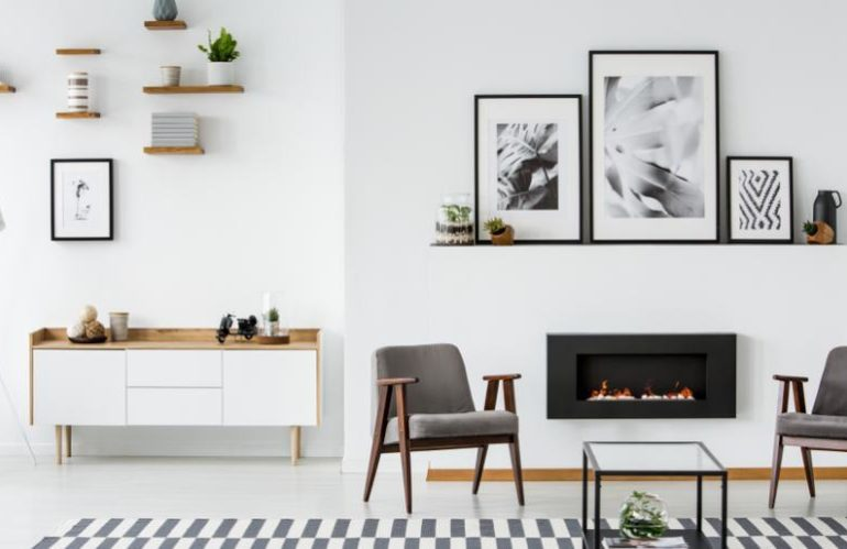 6 idées originales pour moderniser votre cheminée
